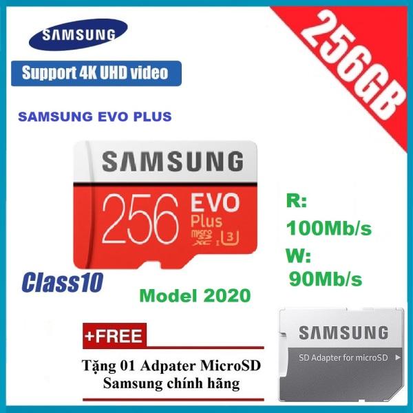Thẻ nhớ micro Samsung Evo Plus 256GB mẫu mới