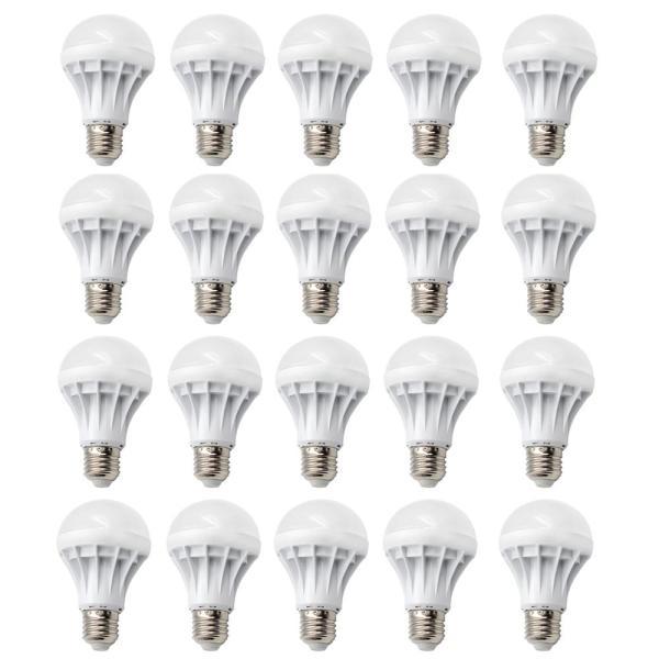 Bộ 20 bóng đèn LED BULB 3W (Ánh Sáng Vàng)