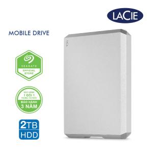 [Trả góp 0%]Ổ Cứng Di Động Lacie Munich Mobile Drive 2TB USB-C STHG2000400 thumbnail