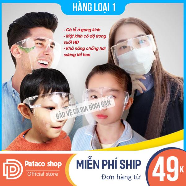 Giá bán (Có video) Kính chống giọt bắn covid cao cấp cho người lớn và cho bé, kính bảo hộ - Kính bảo vệ khuôn mặt, che hết khuôn mặt bảo vệ mắt toàn diện tròng trong suốt cách chống covid hiệu quả
