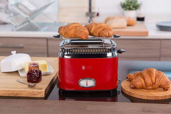 Máy Nướng Bánh Mì Russell Hobbs Toaster Retro