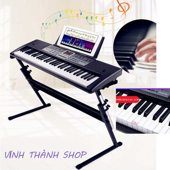 [ Tặng kèm giá đỡ ] Đàn Piano Đàn Điện Đàn Organ Electronic Keyboard Đàn 61 phím kèm phụ kiện đầy đủ