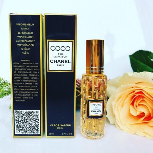 Nước hoa mini xách tay nữ 20ml Đủ Mùi- Thơm Cực Lâu- Siêu bền mùi- mùi coco chanel vàng