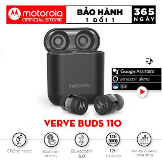 Tai nghe bluetooth không dây TWS - Motorola - VerveBuds110- Thiết kế đậm tính công nghê - chuẩn thumbnail