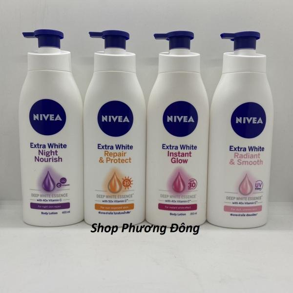 (Date mới) Sữa Dưỡng Thể Trắng Da Nivea 400ml nhập khẩu