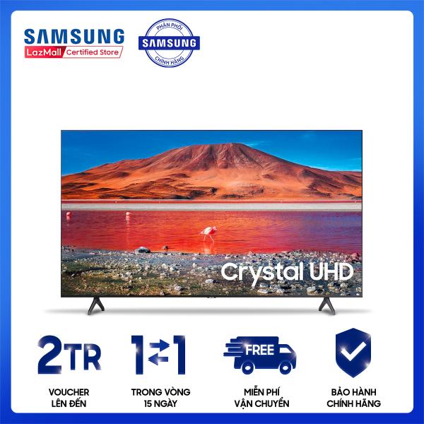 Bảng giá Smart Tivi Samsung Crystal 4K 70 inch UA70TU7000KXXV [Hàng chính hãng, Miễn phí vận chuyển]