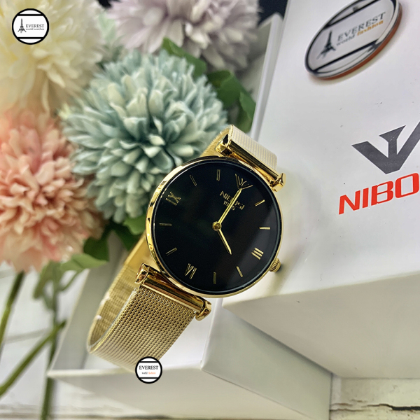 Đồng hồ Nữ, đồng hồ nibosi 1985 hàng fullbox, đầy đủ phụ kiện bán chạy
