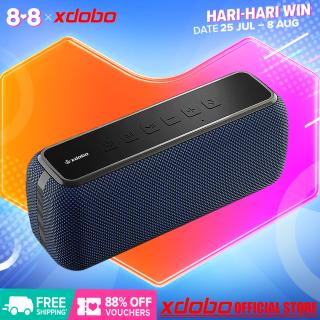 Loa Bluetooth 60W XDOBO X8-ii Công suất cao Pin dung lượng lớn Bass mạnh Âm trầm vòm HIFI Hỗ trợ giọng nói và TWS Có 3 Chế độ Bluetooth thẻ TF AUX trong Không thấm nước thumbnail