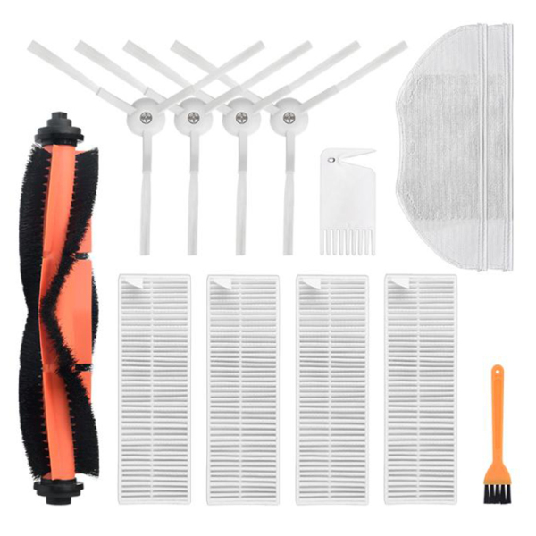 13Pcs For Xiaomi Mijia G1 Main Brush Side Brush Filter For Xiaomi Mijia G1 Robot Vacuum Cleaner Accessories