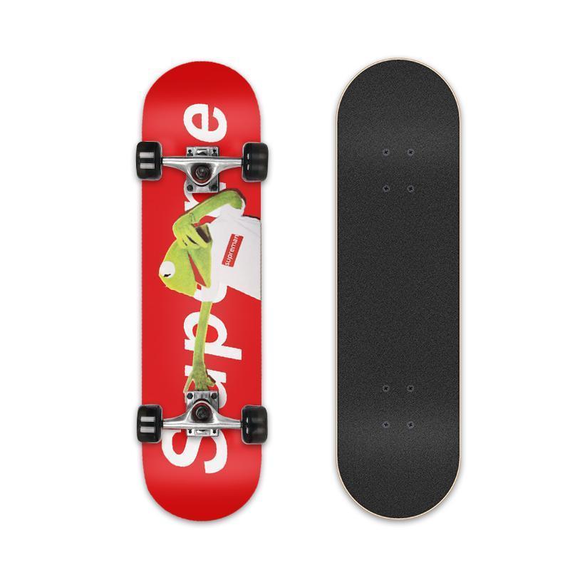 Ván trượt skateboard, Ván trượt Canada mặt nhám đen thiết kế hoàn hảo ĐỒ TẬP TỐT