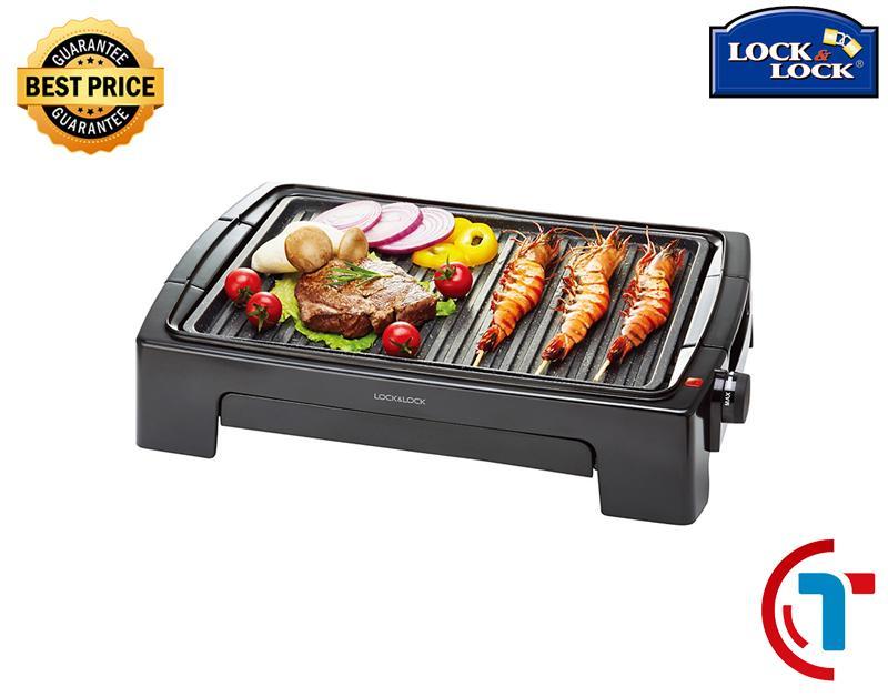 Bếp vỉ nướng điện Lock&Lock EJG221 - Thiết kế cao cấp - Khả năng nướng thực phẩm tốt (1300W)