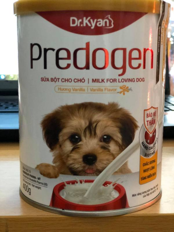 Sữa bột cho chó Dr.Kyan Predogen lon 400g