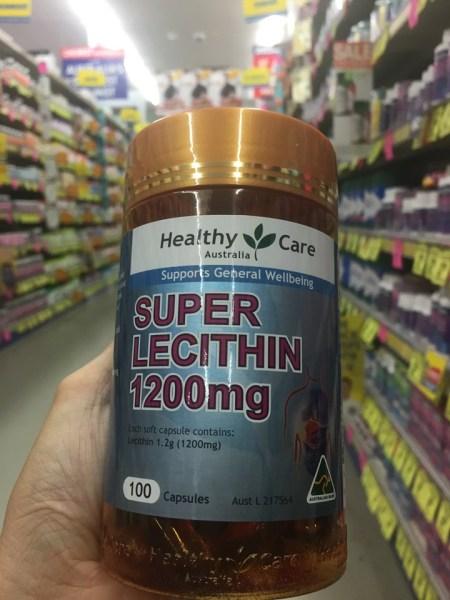 Mầm đậu nành - Healthy Care Super Lecithin 1200mg