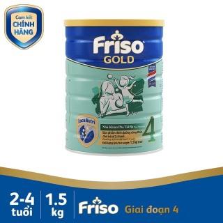 Sữa Friso Gold 4 1,5 kg - 1500g thumbnail