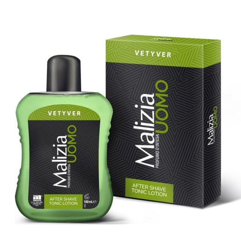 Nước dưỡng sau cạo râu Malizia Vetyver After Shave Tonic Lotion Cao cấp Italy 100ml giá rẻ
