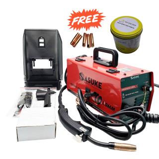Bộ máy hàn Sasuke Mig 200C mini + cuộn dây hàn mig 1kg + 5 pep hàn + 1 hộp mỡ hàn thumbnail