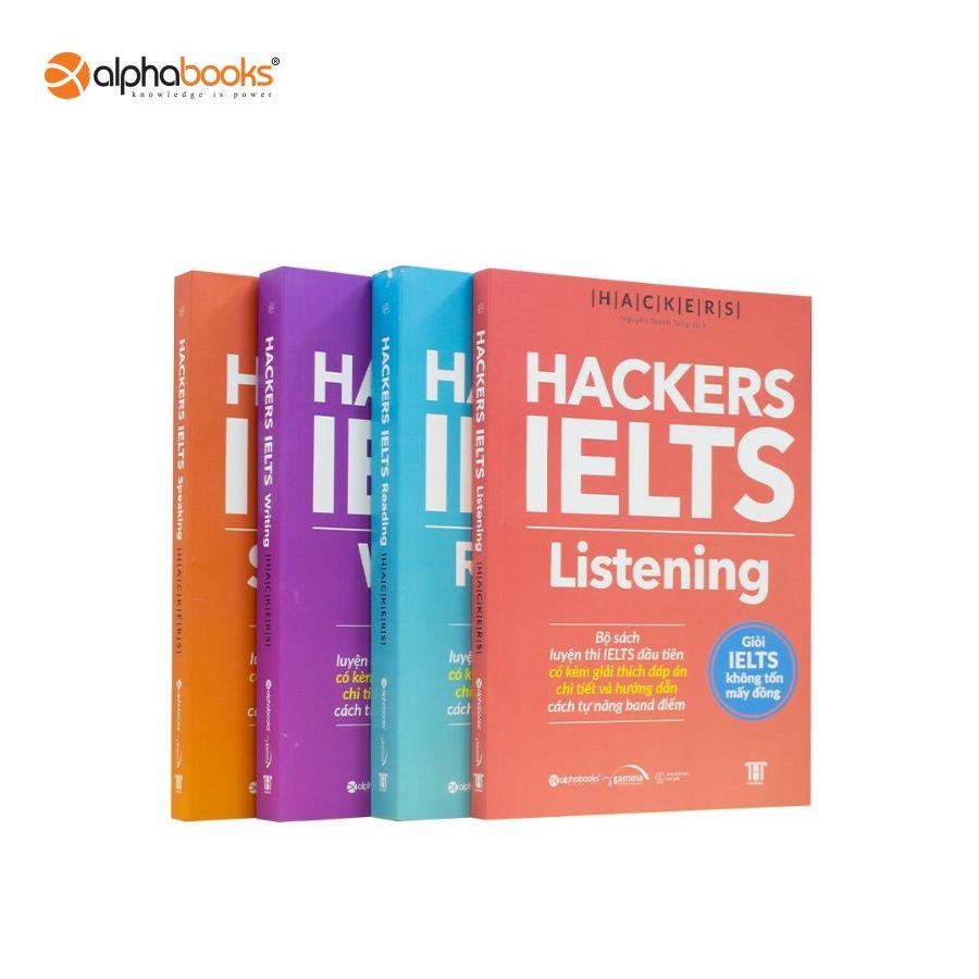 Lazada Khuyến Mãi Khi Mua Sách - Combo Hackers IELTS (4 Cuốn)