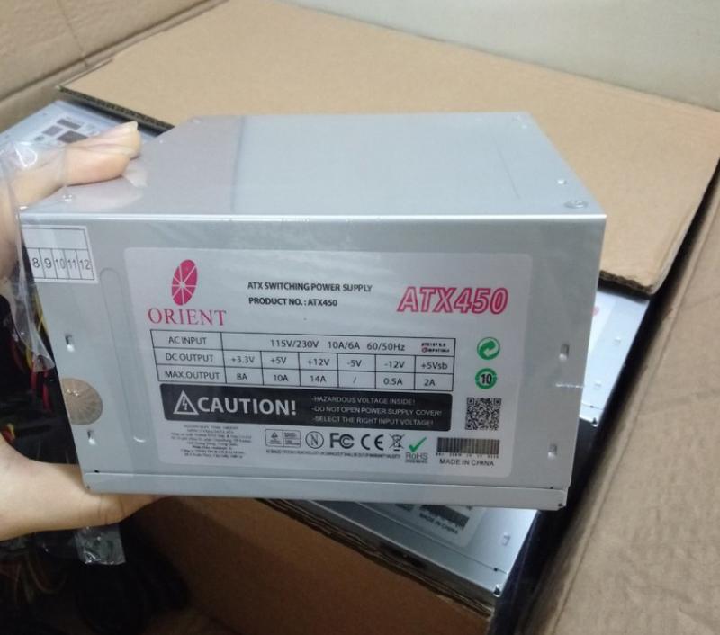 Giá Nguồn máy tính Orient ATX 450W (new)