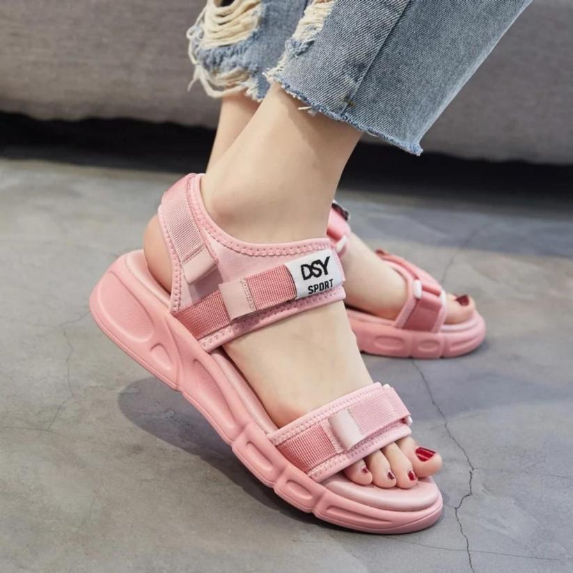 Sandal quai chữ DSY SPORT đẹp về 2 màu giá rẻ