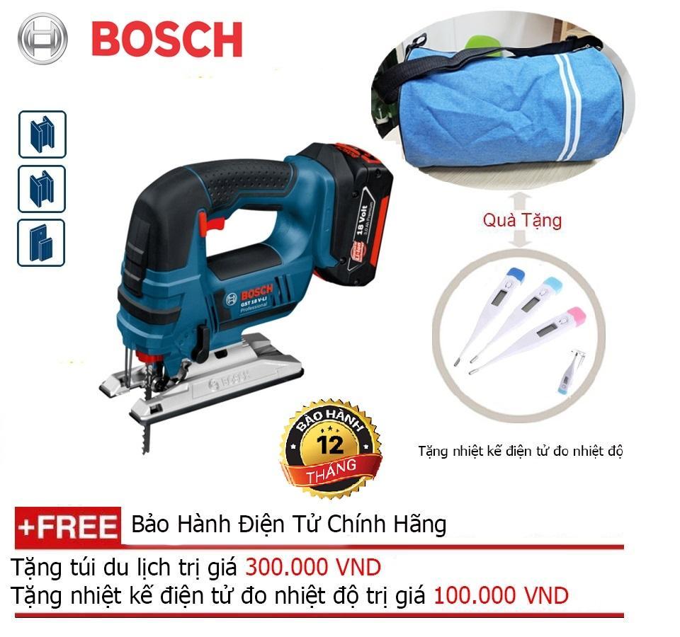 Máy cưa lọng dùng pin Bosch GST 18V-LI (Solo) + Quà tặng balo du lịch