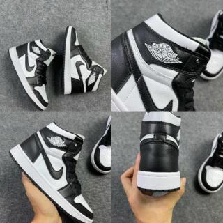 [THE SHOE] Giày thể thao Jordan 1 High Twist Panda Đen Trắng MS2245 thumbnail