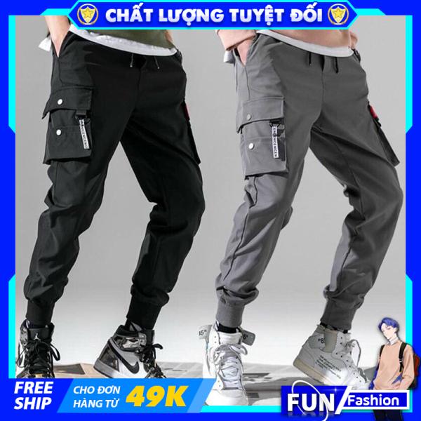 Quần jogger thể thao nam kaki mã TT33 thô túi hộp kiểu bó ống Hàn Quốc chất vải đẹp ống dài [Deal 1k]