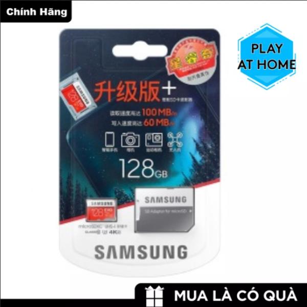 [ Hàng Mới ] Thẻ nhớ MicroSDXC Samsung Evo Plus 128GB U3 4K R100MB/s W60MB/s - Box Hoa - Hàng Chính Hãng