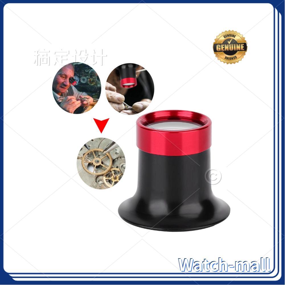 【Người Bán Tốt Nhất, Watch】kính Lúp Mắt 10X Hợp Kim Nhôm, Dụng Cụ Sửa Chữa Đồng Hồ Loupe Kính Lúp Kính Lúp
