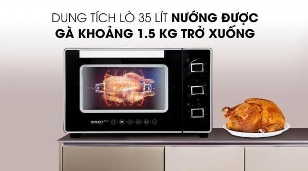 Bảng giá Lò nướng Sanaky VH3599S2D 35 lít Điện máy Pico