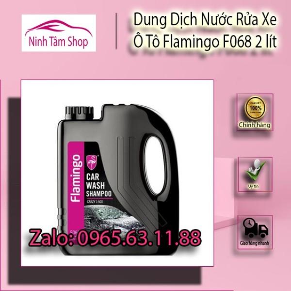 Dung Dịch Nước Rửa Xe Ô Tô Flamingo F068 2 lít