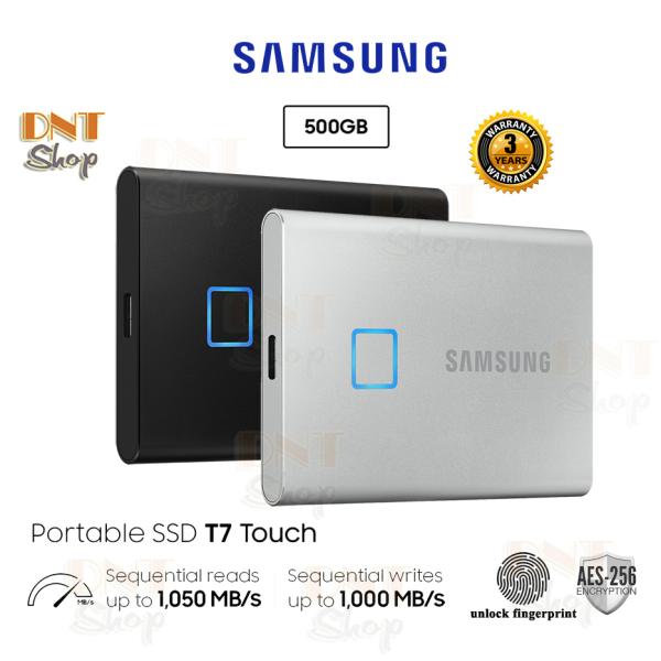 Bảng giá Ổ cứng di động SSD Portable Samsung T7 Touch 500GB - USB 3.2 Gen 2 (MU-PC500) Phong Vũ