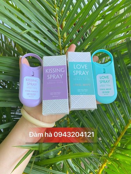 Xịt Thơm Miệng Qlady love spray- kissing spray