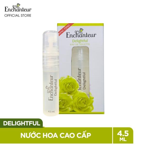 Nước hoa cao cấp Enchanteur Delightful 4.5ml cao cấp