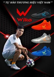 Giày đá bóng WIKA Galaxy -Tặng kèm tất ngắn- Đã khâu full đế- Giày đế TF chuyên sân cỏ nhân tạo thumbnail