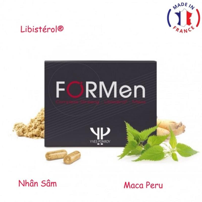 Formen – Tăng cường sức khỏe sinh lý nam giới (Hộp 60 viên) - Nhập khẩu Pháp
