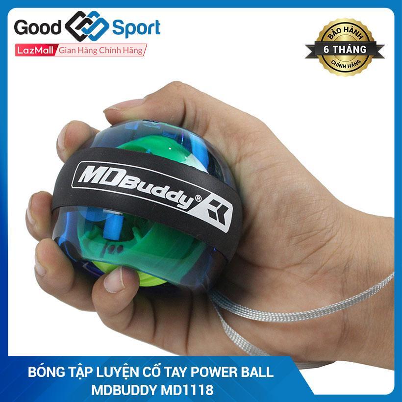 Bảng giá Bóng tập lực cổ tay dành cho tập thể lực đánh gôn quần vợt (Xanh dương) Power Ball MDBuddy MD1118