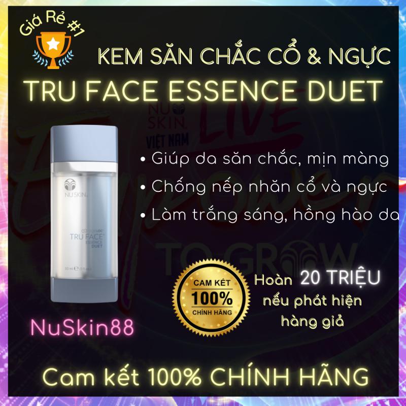 Tinh chất làm săn chắc Cổ và Ngực ageLOC Face Essence Duet NuSkin 30ml - Nâng cơ xóa nhăn - Ageloc Lumispa Boost - Chống lão hóa - Nuskin chính hãng - Nuskin 88 - Sản phẩm Nuskin cao cấp