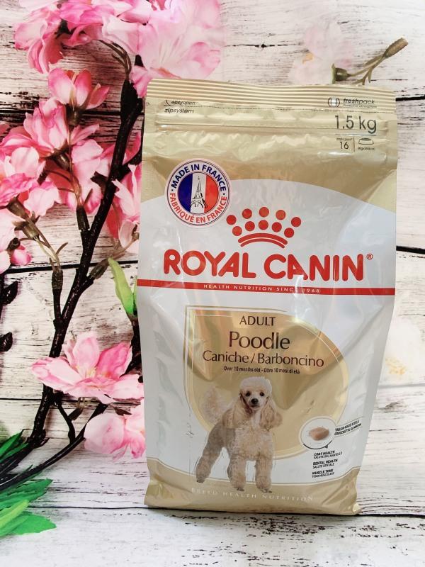Thức ăn cho chó Royal Canin Poodle Adult 1.5kg