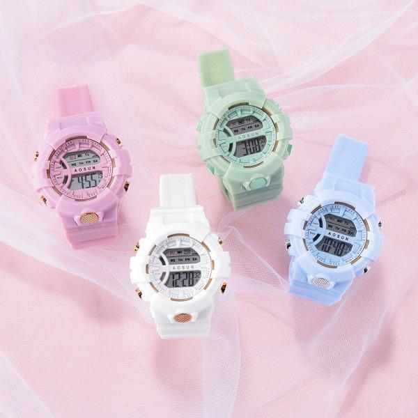 Nơi bán Đồng hồ điện tử nam nữ Sport m02 dây nhựa cực hot it124