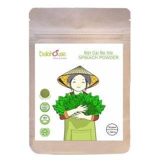 Bột cải bó xôi Dalahouse - Bột ăn dặm cho bé - Bổ sung chất xơ nhuận tràng tốt cho da và tóc 50Gr - 10g thumbnail