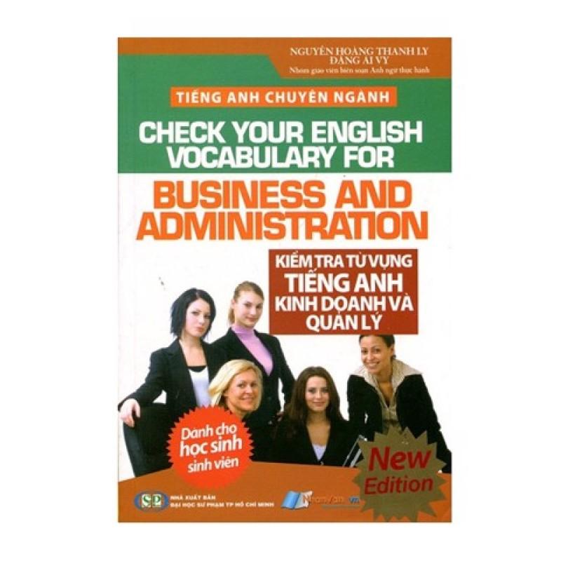 Tiếng Anh Chuyên Ngành - Kiểm Tra Từ Vựng Tiếng Anh Kinh Doanh Và Quản Lý - 8935072881924