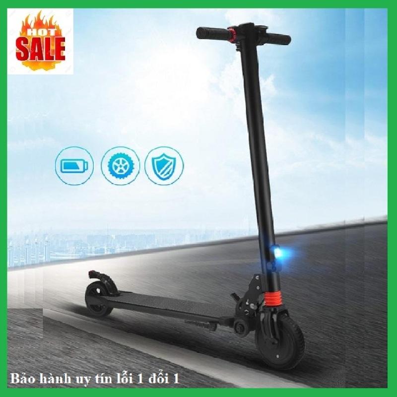 Mua Xe scooter điện S8 không yên, có thể gấp gọn thanh thiếu niên nam nữ đi làm đi học tiện lợi, 10km/1 lần sạc, tải trọng 100kg