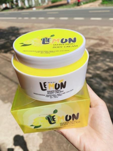 Lemon kem ủ body chanh trắng Body cao cấp