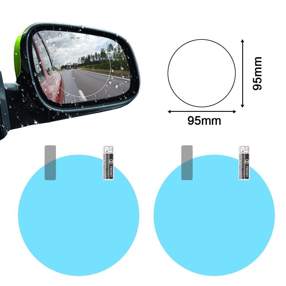 Combo 2 Miếng dán chống thấm nước gương chiếu hậu ô tô, gương xe máy Nhật Bản