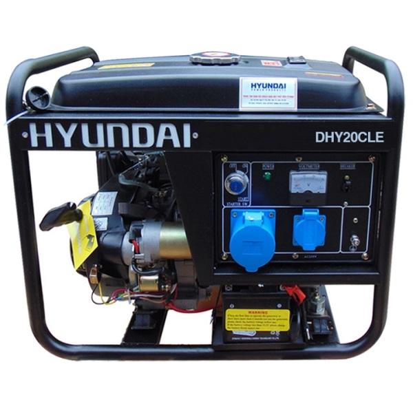 Máy Phát Điện Hyundai Chạy Dầu 1.7KVA-1.9KVA DHY20CLE