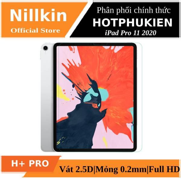 Miếng dán màn hình kính cường lực cho iPad Air 4 2020 (10.9 inch) / iPad Pro 11 2021 Chip M1 / iPad Pro 11 2020 / iPad Pro 11 2018 hiệu Nillkin Amazing H+ Pro (mỏng 0.2 mm, vát cạnh 2.5D, chống trầy, chống va đập) - Phân phối bởi Hotphukien