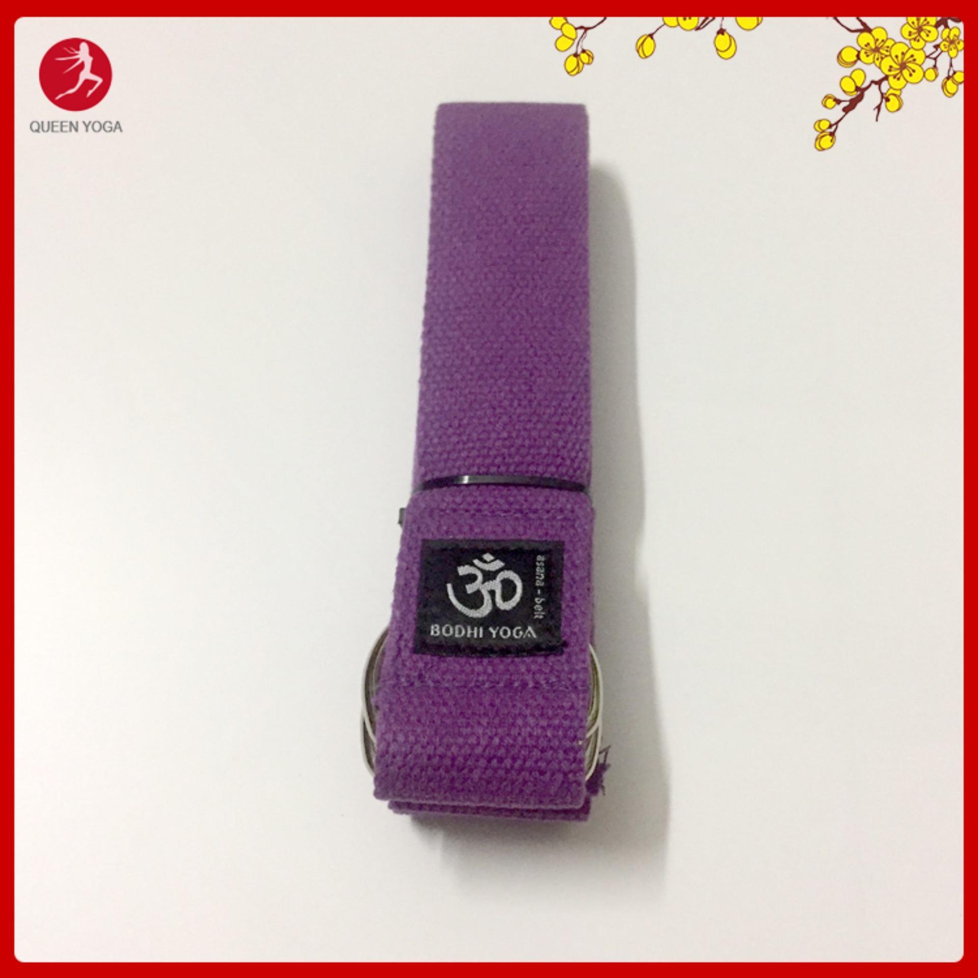Bảng giá Dây tập Yoga cao cấp BODHI 100% Cotton - Yoga Asana Belt