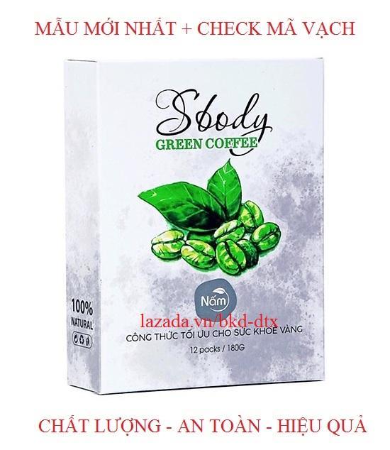 Nấm giảm cân SBody Green Coffee dạng gói pha uống