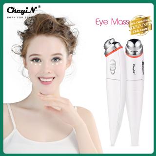 Ckeyin Máy Massage Mắt Mini Công Cụ Để Loại Bỏ Quầng Thâm, Bọng Mắt, giảm Nếp Nhăn Vùng Mắt Và Làm Giảm Mệt Mỏi Mắt-Hoạt Động Bằng Pin thumbnail