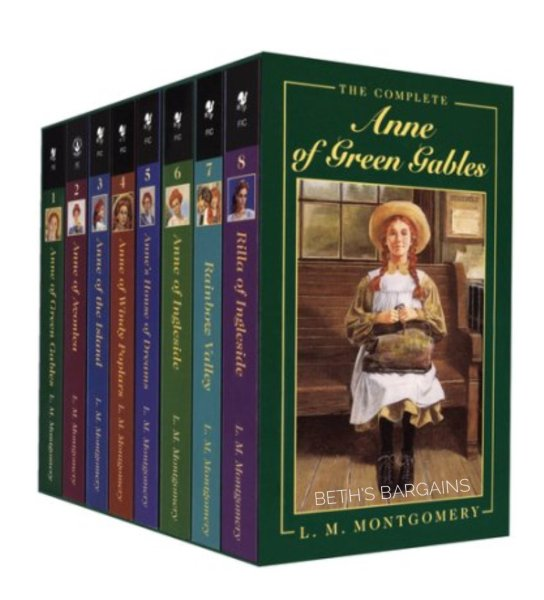 Anne of green gables - the complete 8 books collection - Truyện tiếng anh